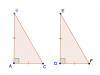 các trường hợp bằng nhau của tam giác vuông