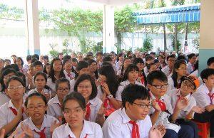 THCS Nguyễn Du được đầu tư 20 phòng học thông minh trị giá 12 tỉ đồng (2)