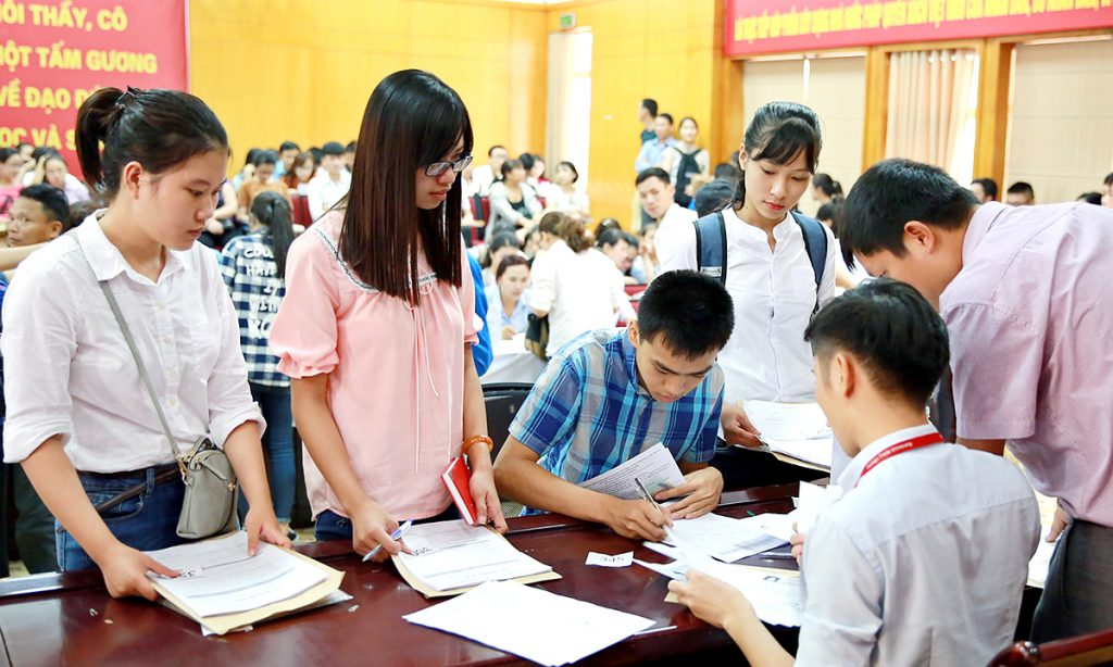 Học viện Ngân hàng tuyển sinh dựa vào kết quả của kì thi THPT Quốc gia