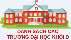 Học khối D nên thi trường nào