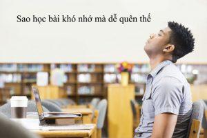 cách học thuộc lòng văn nhanh nhất